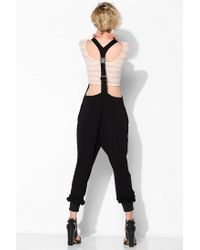 Urban Outfitters - Black Arts Thread X Uo Natalie Meshinset Jumpsuit - Lyst