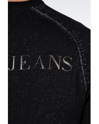 Armani Jeans - Blue Longsleeved Polo for Men - Lyst