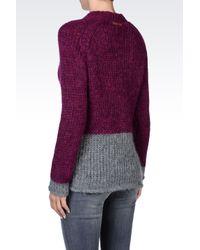 Armani Jeans - Purple Crewneck - Lyst