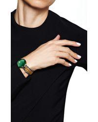 Delfina Delettrez - Timeless Bracelet in Green Quartz - Lyst