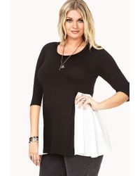 Forever 21 - White Plus Size Minimalist Combo Top - Lyst