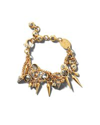 Henri Bendel - Metallic Stiletto Spike Bracelet - Lyst