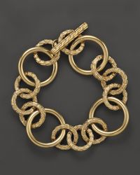 John Hardy | Metallic Classic Chain 18K Yellow Gold Large Link Bracelet | Lyst