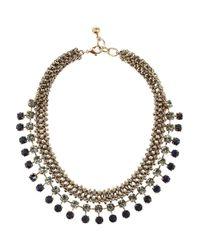 Lulu Frost | Gray Nebula Goldtone Crystal Necklace | Lyst
