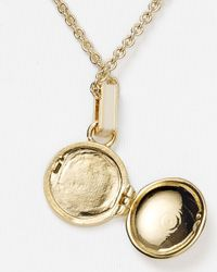Marc By Marc Jacobs - Natural Locket Necklace  - Lyst