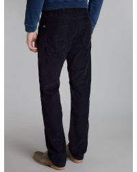 Paul Smith - Blue Cord Trousers for Men - Lyst