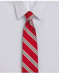 Brooks Brothers - Gray Bb#1 Repp Tie for Men - Lyst