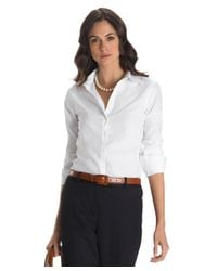 Brooks Brothers - White Non-iron Classic-fit Dress Shirt - Lyst