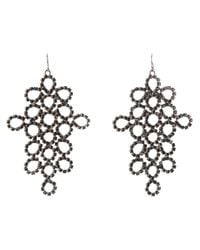Emilio Pucci | Black Drop Earrings | Lyst