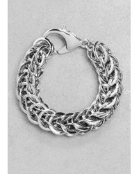 & Other Stories - Metallic Chain-link Bracelet - Lyst