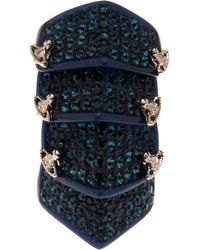 Vivienne Westwood | Blue Armour Ring | Lyst
