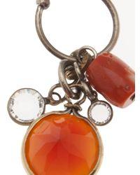 Beth Orduna - Orange Crystal Jewel Earring - Lyst