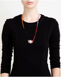 Ambush - Multicolor Pow Pendant Necklace - Lyst