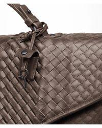 Bottega Veneta - Brown Edoardo Intreccio Imperatore Briefcase for Men - Lyst