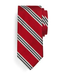 Brooks Brothers | Gray Bb#1 Repp Tie for Men | Lyst