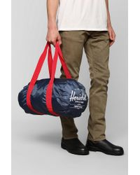 3c527e0e507f Lyst - Urban Outfitters Herschel Supply Co Packable Duffle Bag in ...