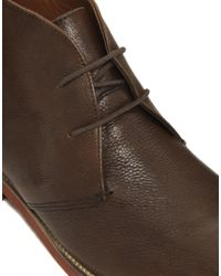 KG by Kurt Geiger - Brown Frank Wright Monkhouse Boots for Men - Lyst