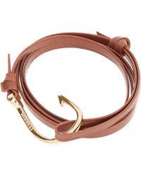Miansai | Brown Hook Bracelet | Lyst