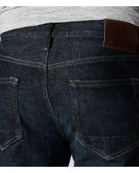 AllSaints - Blue Nakame Cigarette Jeans for Men - Lyst