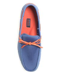 Brooks Brothers - Blue Swims Lace Front Loafers for Men - Lyst
