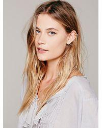 Free People | Metallic Womens Cuff To Post Earring | Lyst