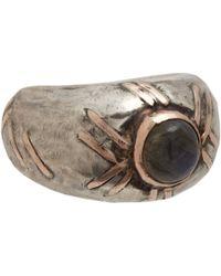 Sandra Dini | Metallic Labradorite Ring | Lyst