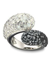 Swarovski | Black Louise Ring | Lyst