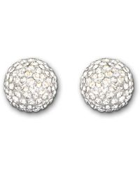 Swarovski | Metallic Pop Pierced Earrings | Lyst