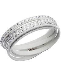 Swarovski | Metallic Slake Square Bracelet | Lyst