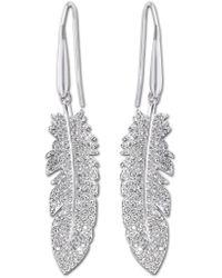 Swarovski | Metallic Tampico Pierced Earrings | Lyst