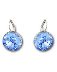 Swarovski | Blue Bella Pierced Earrings | Lyst