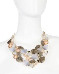 Kendra Scott | Multicolor Stella Multi-Stone Bib Necklace | Lyst