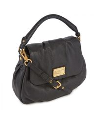 Marc By Marc Jacobs | Black Ulkita Grained Leather Shoulder Bag | Lyst