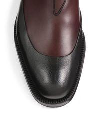 Prada | Brown Chelsea Lug Boot for Men | Lyst