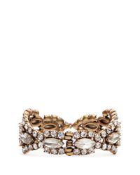 J.Crew | White Crystal Icicle Bracelet | Lyst