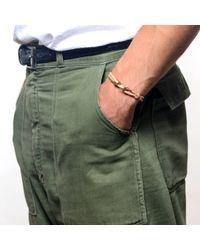Lulu Frost - Brown George Frost Double Strand Harpoon Bracelet Tan for Men - Lyst