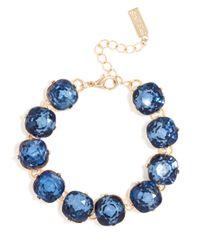 BaubleBar - Blue Cushion Cut Bracelet - Lyst