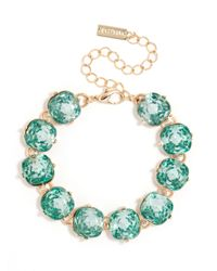 BaubleBar - Blue Cushion Cut Bracelet - Lyst
