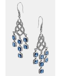 John Hardy | Metallic Classic Chain Batu Chandelier Earrings | Lyst