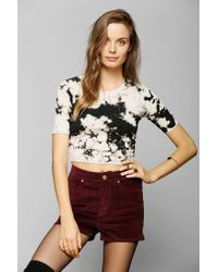 Urban Outfitters | Black Ecote Party Cake Cropped Top | Lyst
