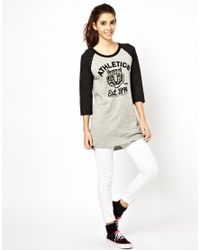 Little Mistress - Multicolor White Chocoolate Athletics Tee - Lyst