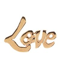 Lana Jewelry - Metallic Mini 14k Love Stud Earrings - Lyst