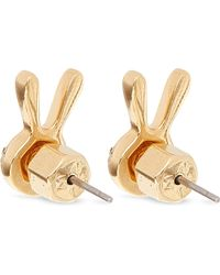 Marc By Marc Jacobs - Metallic Dynamite Bunny Studs - Lyst