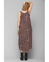 Urban Outfitters - Multicolor Renewal Babydoll Maxi Dress - Lyst