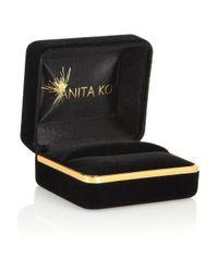Anita Ko - Metallic 18karat Rose Gold Diamond Ring - Lyst