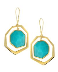 Ippolita | Blue Turquoise Dangling Earrings | Lyst