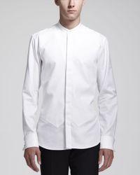 Alexander McQueen - Black Slim-Fit Rose-Embroidered Cotton Blazer for Men - Lyst