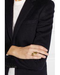Aurelie Bidermann - Metallic Monteroso Gold-Plated Ring - Lyst
