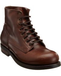 Buttero | Brown Laceup Boot for Men | Lyst