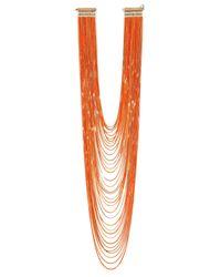 Rosantica - Orange Necklace - Lyst